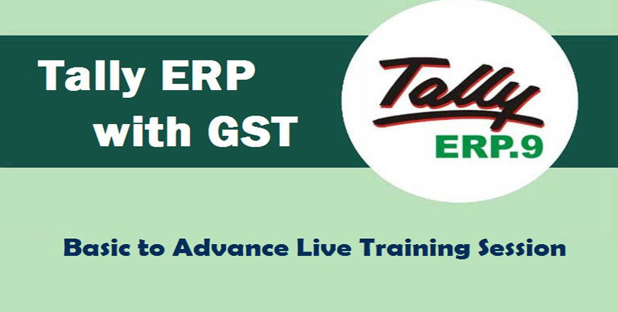 Learn Tally ERP Online, Online Tally Certification Course